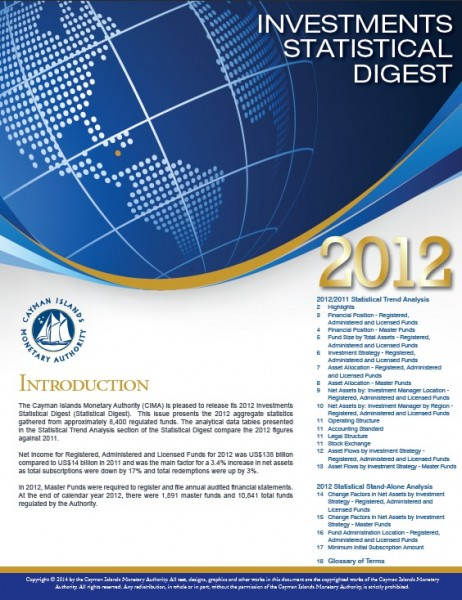 Investments Statistical Digest 2012