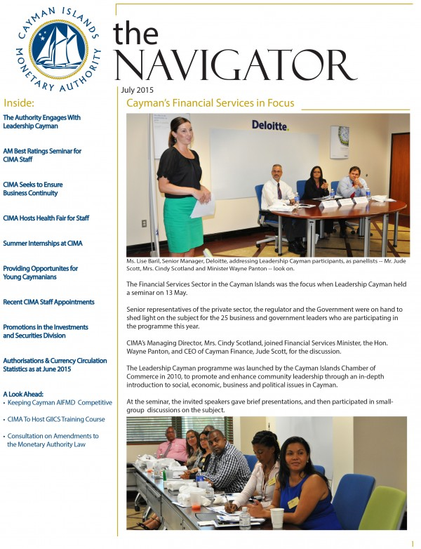 The Navigator - July 2015