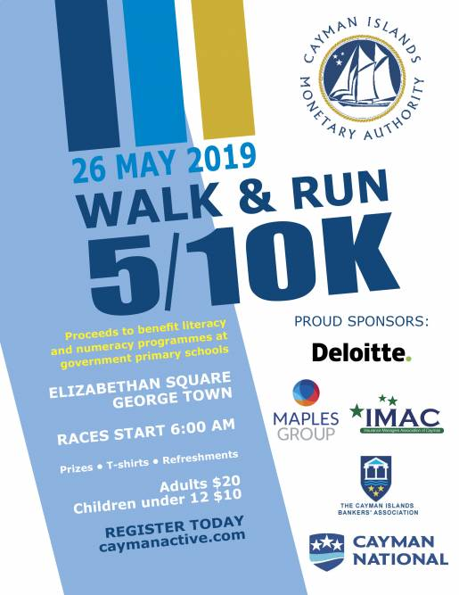 CIMA Charity Walk/Run 2019