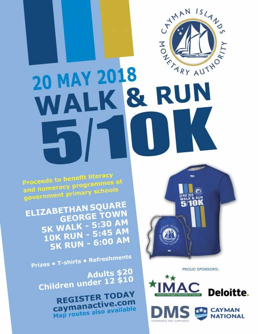 CIMA 5/10K Walk & Run 2018
