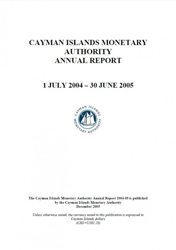 Appendix to the Annual Report 2004-05 - Audited Financial Statements for Year Ended June 2005