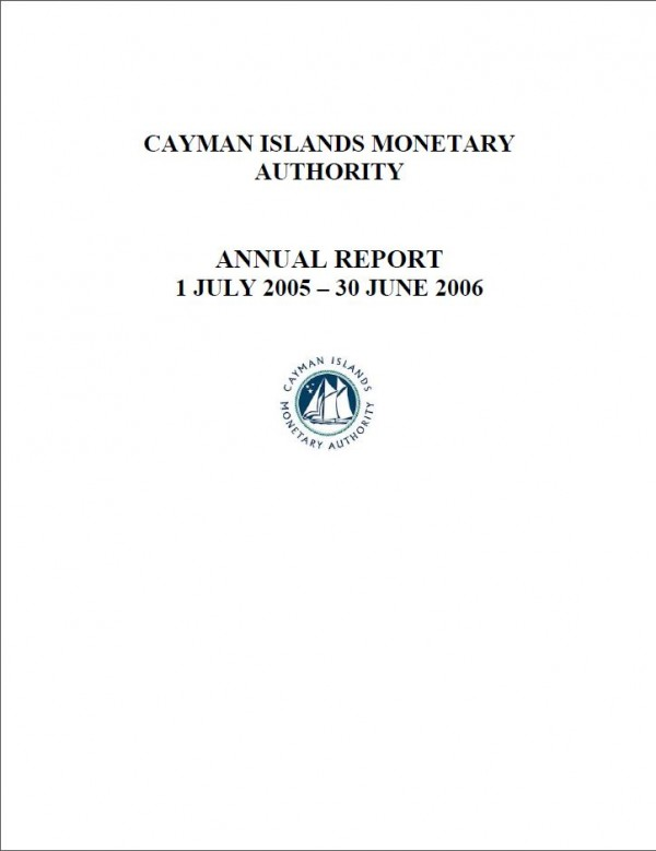 Annual Report and Audited Financial Statements - Year Ended 30 June 2006
