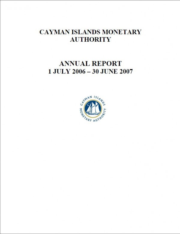 Appendix to Annual Report: Audited Financial Statements for Year Ended 30 June 2007