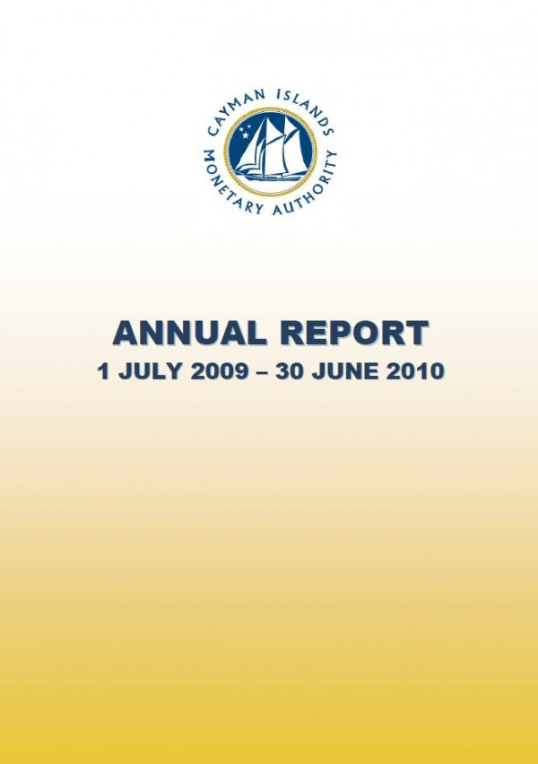 Annual Report and Audited Financial Statements - Year Ended June 2010