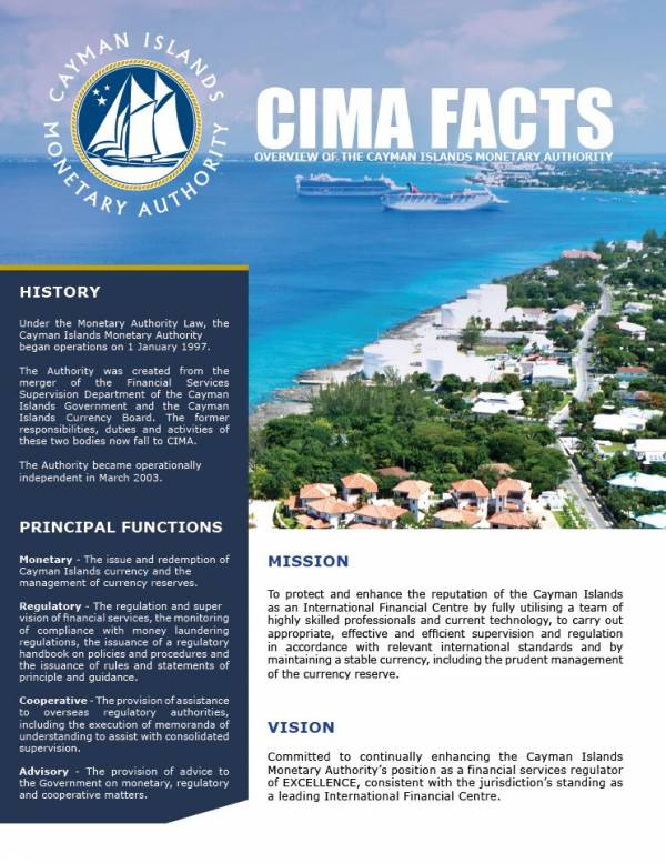 CIMA FACTS - September 2017