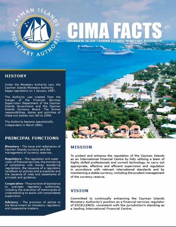 CIMA FACTS - October 2018