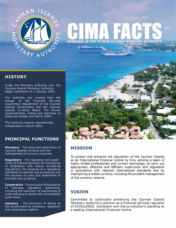 CIMA FACTS - January 2019