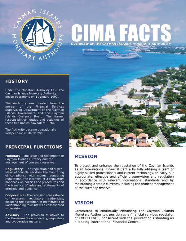 CIMA FACTS - July 2018