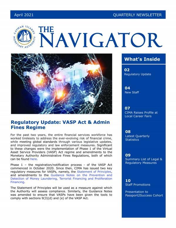 The Navigator - April 2021