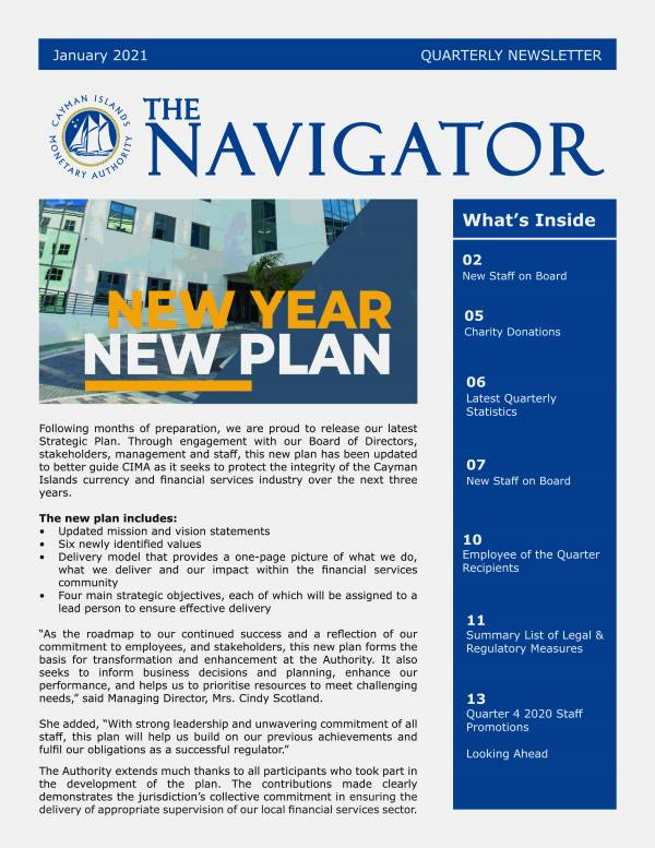 The Navigator - January 2021