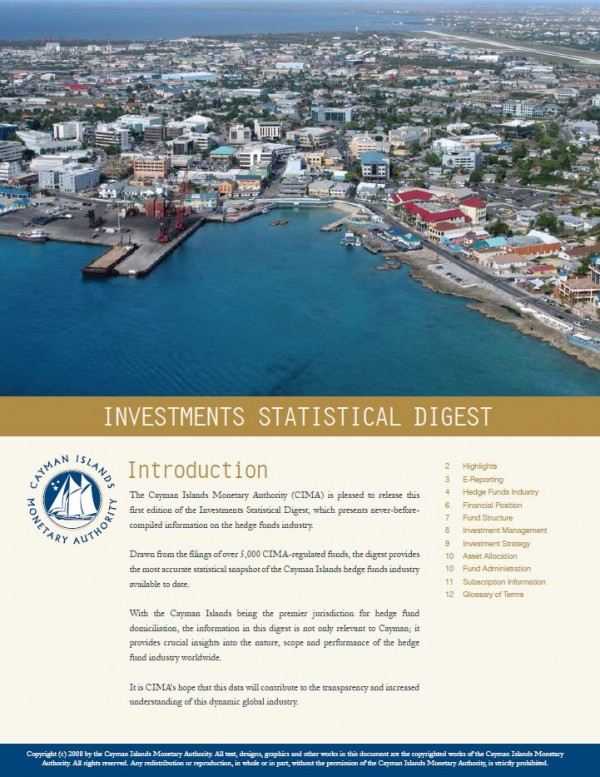 Investments Statistical Digest 2006