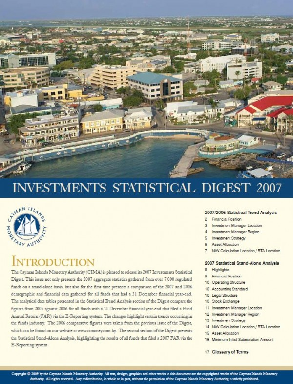 Investments Statistical Digest 2007