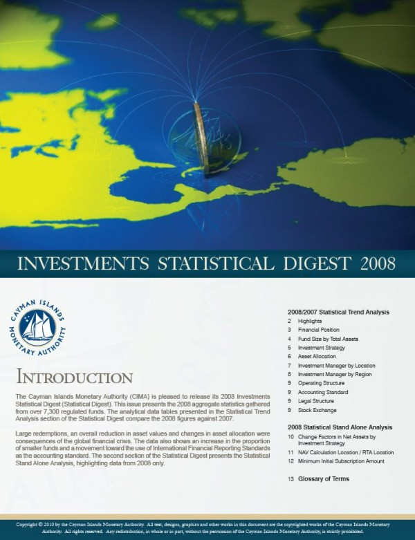 Investment Statistical Digest 2008
