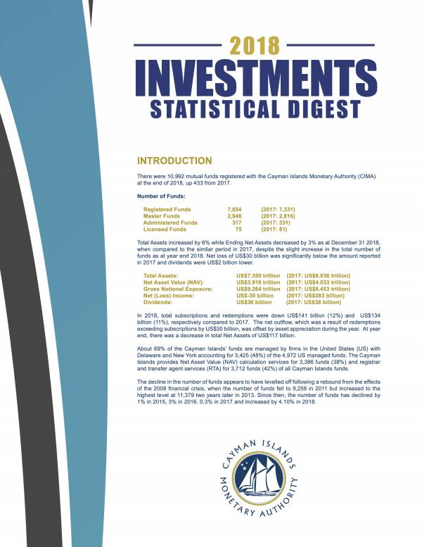 Investments Statistical Digest 2018