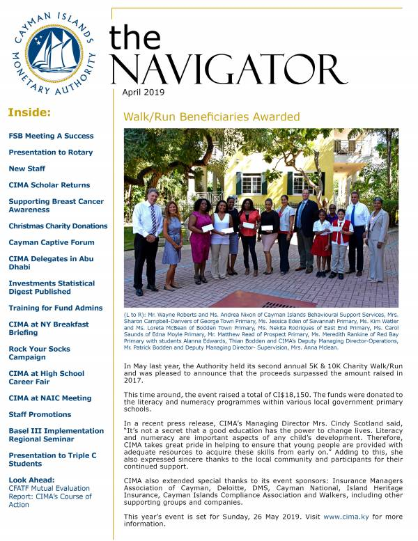 The Navigator - April 2019