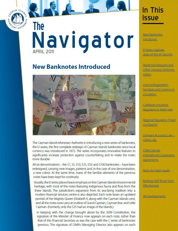 The Navigator - April 2011