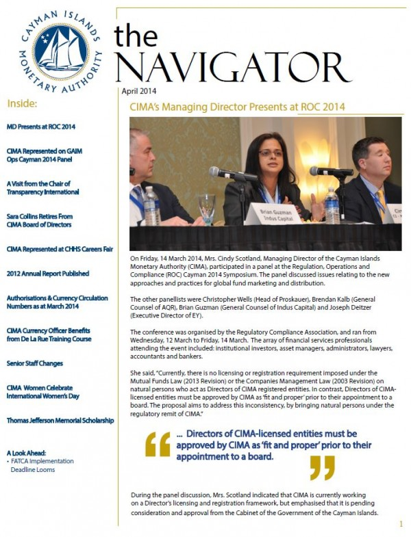 The Navigator - April 2014