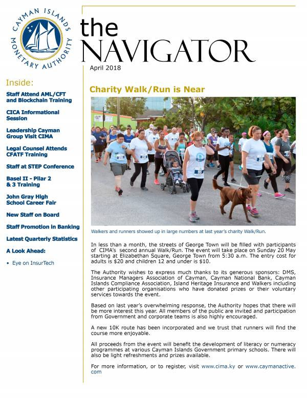 The Navigator - April 2018