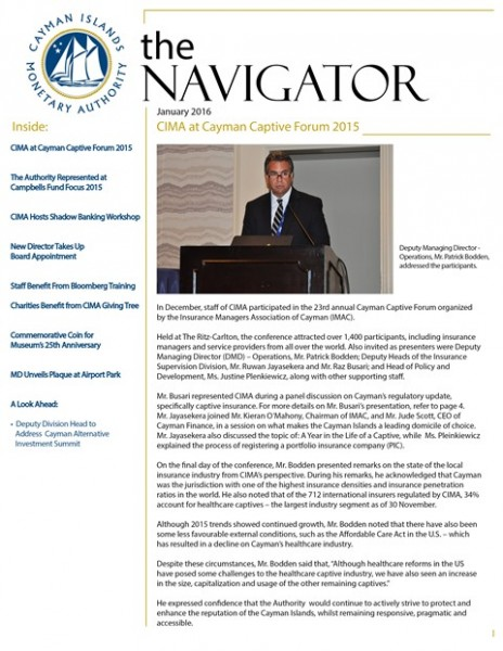 The Navigator - January 2016