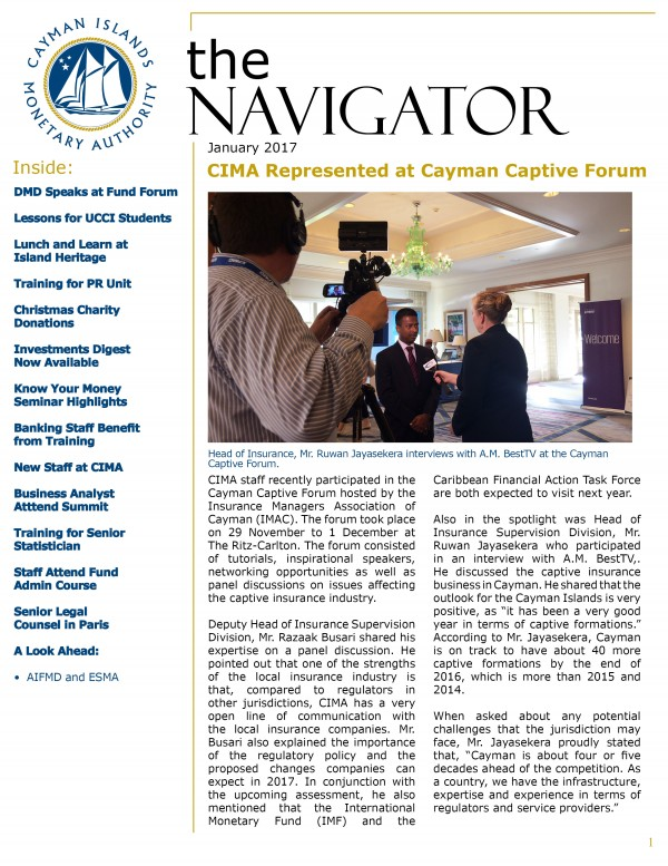 The Navigator-  January 2017