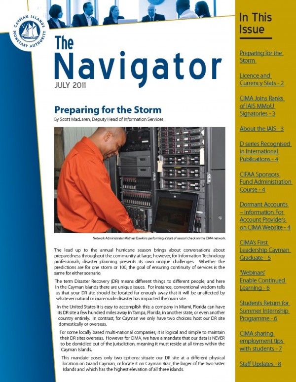 The Navigator - July 2011