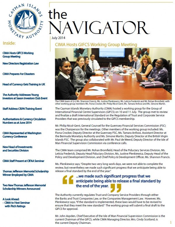 The Navigator - July 2014