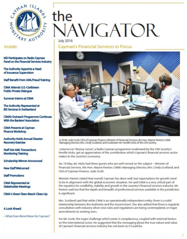 The Navigator - July 2016