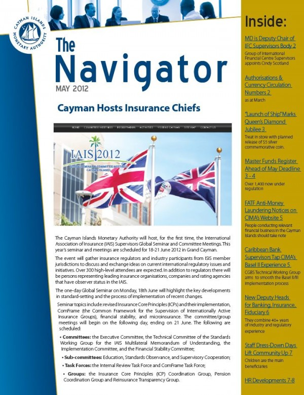 The Navigator May 2012