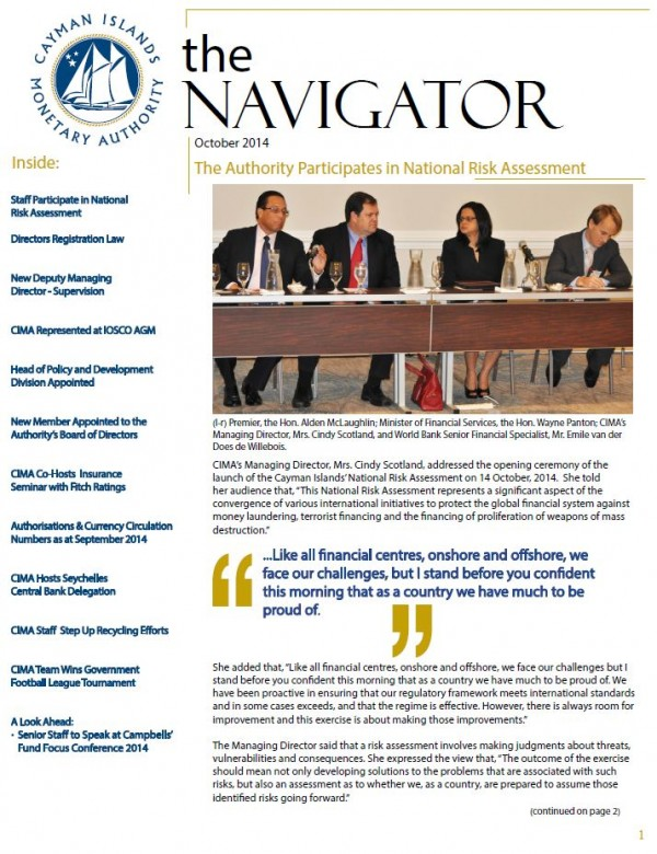 The Navigator - October 2014
