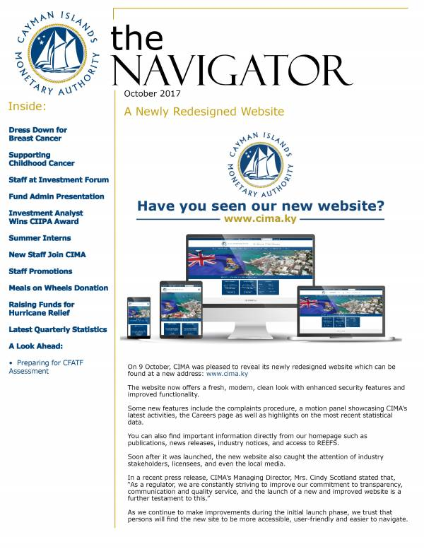 The Navigator - October 2017