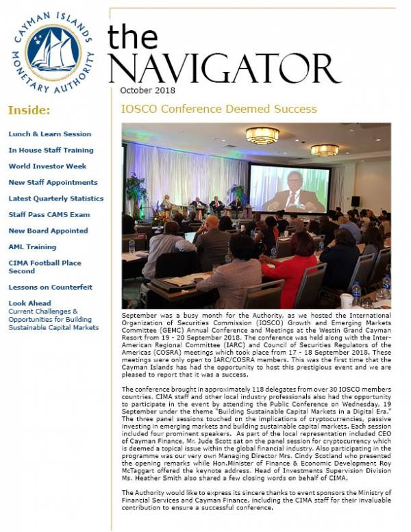 The Navigator - October 2018