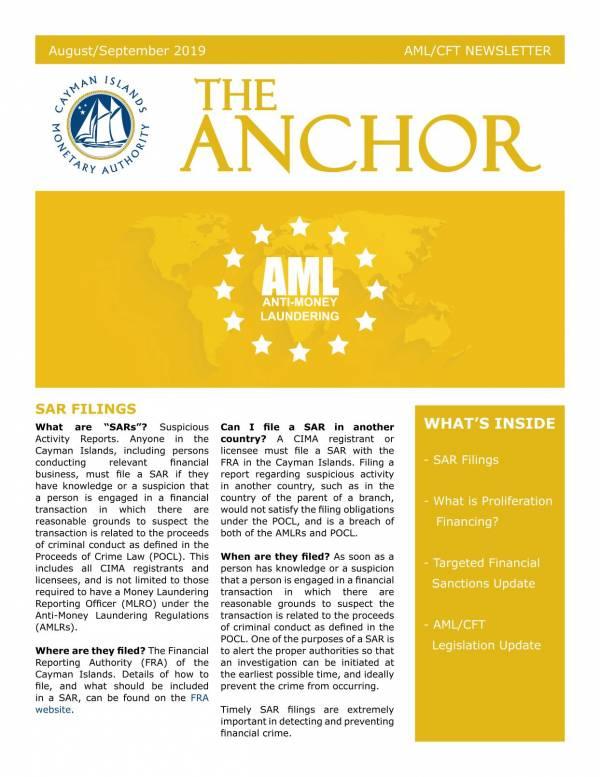 The Anchor - August/September 2019