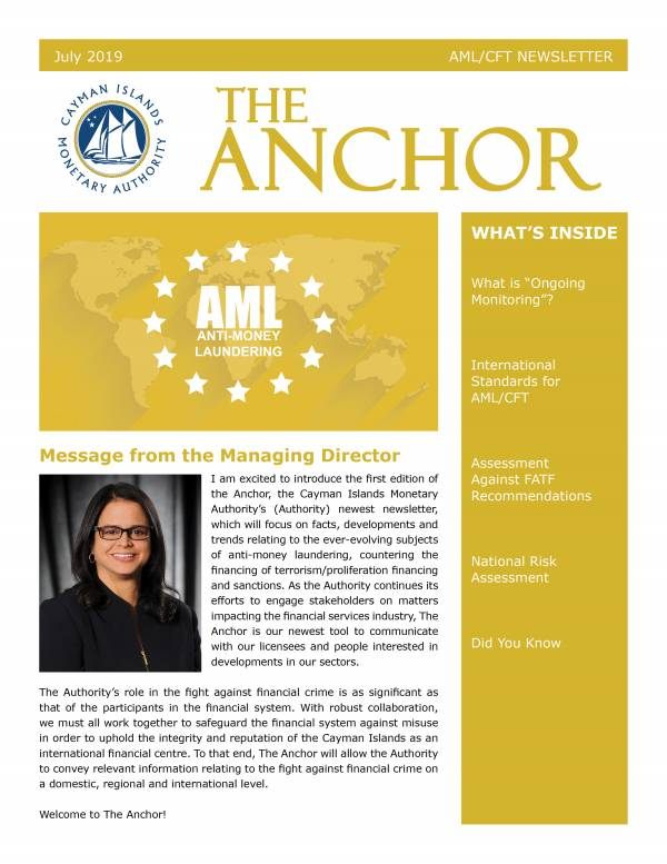The Anchor - July 2019