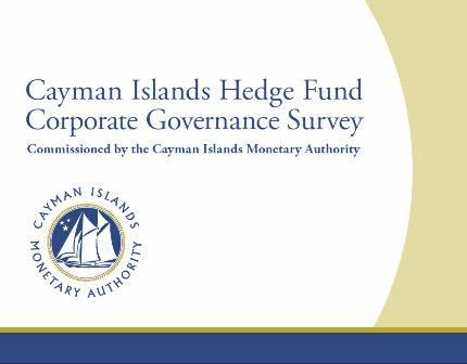 Cayman Islands Hedge Fund Corporate Governance Survey