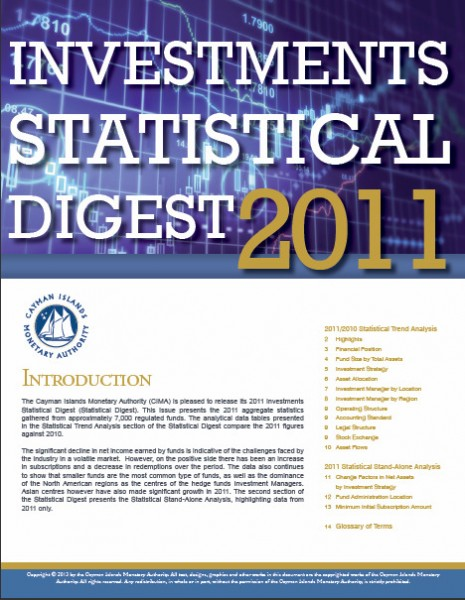 Investments Statistical Digest 2011