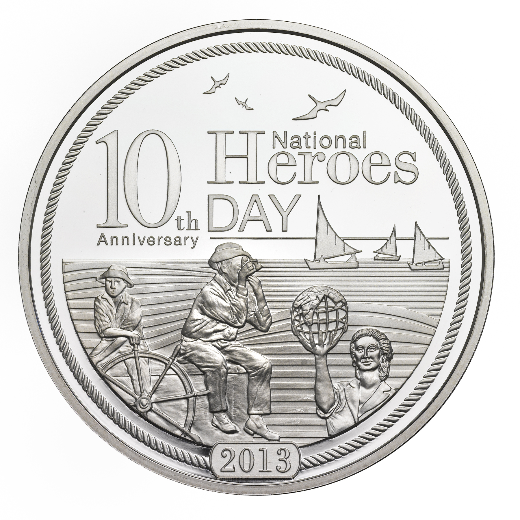 National Heroes Day 10th Anniversary (Silver)