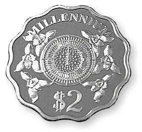 The Cayman Islands Monetary Authority Commemorates the 'Millennium' (Silver)