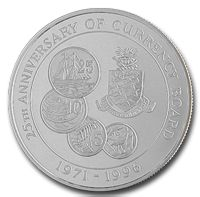 25th Anniversary of the Cayman Islands Currency Board (Silver)