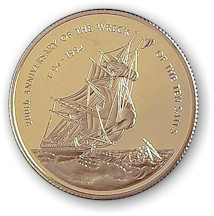 200th Anniversary of the Wreck of the Ten Sails (Gold)