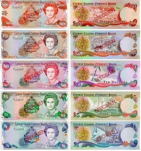 1996 B Series Bank Notes