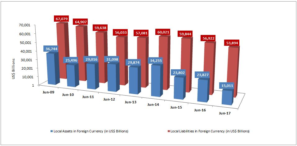 Domestic Assets and Liabilities in Foreign Currency