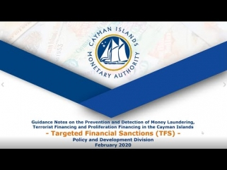 Guidance Notes on ML, TF & PF: Targeted Financial Sanctions